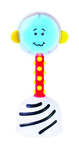 SmartNoggin NogginStik Developmental Light-Up Rattle - Encourage Developmental Milestones from Infant - 12 months