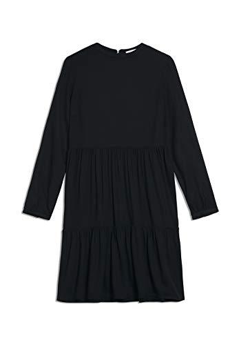 ARMEDANGELS Damen Kleid aus LENZING™ ECOVERO™ - KAARINA - S Black 100% Viskose (lenzing™ Ecovero™) Kleider Web