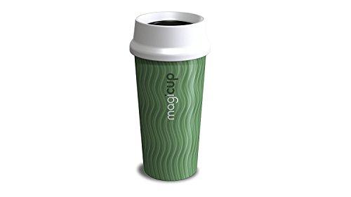 Magicup, 470 ml., plastica, Rhythm Green, 6.5 x 6.5 x 19 cm