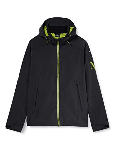 Icepeak Barling Softshell Jacket, Uomo, Green, 3XL