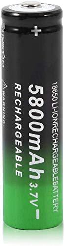 18650 Batteria Batteria ricaricabile agli ioni di litio 3.7v 5800mah Batteria ricaricabile agli ioni di litio per torcia a led Illuminazione di emergenza Dispositivi portatili Strumenti-1 PZ