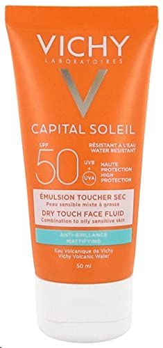 Vichy Idéal Soleil - Crema Solar Rostro, 50 ml