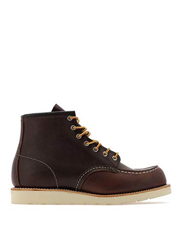 Red Wing Shoes Napa Combat Boots, 9 Dark Brown