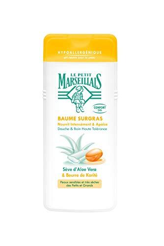 Le Petit Marseillais Crème de Douche Surgras/Aloe Vera/Beurre de Karité 650 ml
