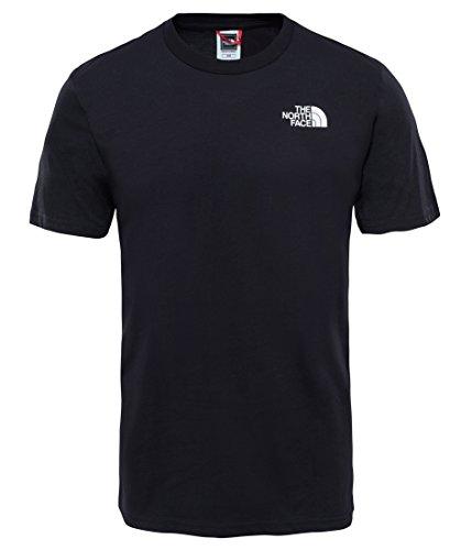 The North Face T92TX5 Camiseta De Manga Corta Simple Dome, Hombre, Negro (TNF Black), M