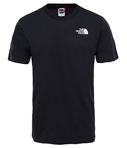 The North Face T92TX5 Camiseta De Manga Corta Simple Dome, Hombre, Negro (TNF Black), L