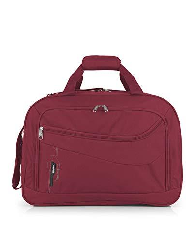 Gabol - Week | Bolso de Viaje Grande de Tela de 50 x 35 x 23 cm con Capacidad para 40 L de Color Rojo