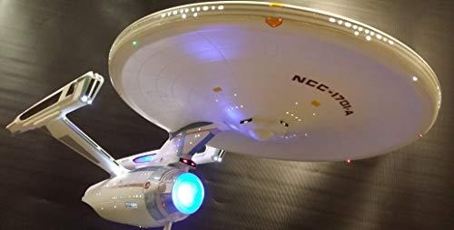 LED Beleuchtungsset für Star Trek Enterprise Refit 1/350 Modell Bausatz (Admiral)