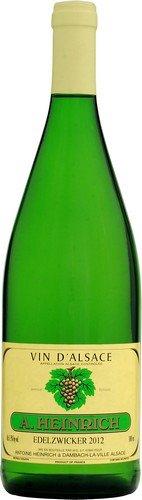 Antoine Heinrich Elsässer Edelzwicker Wein d'Alsace A.A.C. 6er Pack (6 x 1,0l)
