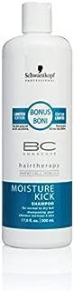 Schwarzkopf BC Bonacure Moisture Kick Shampoo for Normal to Dry Hair 500ml/17oz by Schwarzkopf Professional