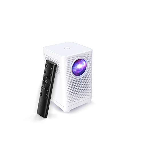 Witseer Portable LCD Video Projector, Native 1080P Full HD, Home Movie Projector, Compatible with PC, TV, Tablet, Laptop, USB, HDMI, Use for Home Theater (L1B (Basic Version))