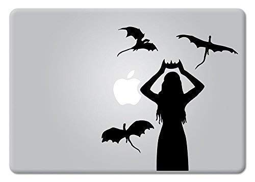 Daenerys Targaryen Game of Thrones Emilia Clarke Mother of Dragons Decal Sticker by Universal Tagline