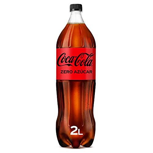 Coca-Cola Zero Azúcar -Refresco de cola sin azúcar, sin calorías - Botella 2L