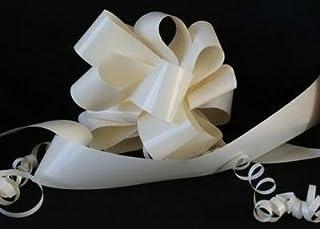 1046f4655 Kit de coche de la boda. 3 x Cream 50mm (montado no paquete plano