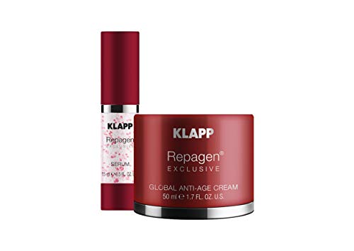 Repagen Exclusive Face Care Set - Global Anti-Age Cream + Serum