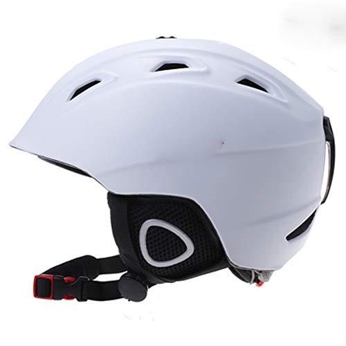 Skihelm, outdoor sportuitrusting voor jongens en meisjes, beschermende uitrusting fineer volwassen sneeuwhelm