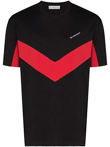 Givenchy Luxury Fashion Herren BM70TZ3002009 Schwarz Baumwolle T-Shirt | Frühling Sommer 20