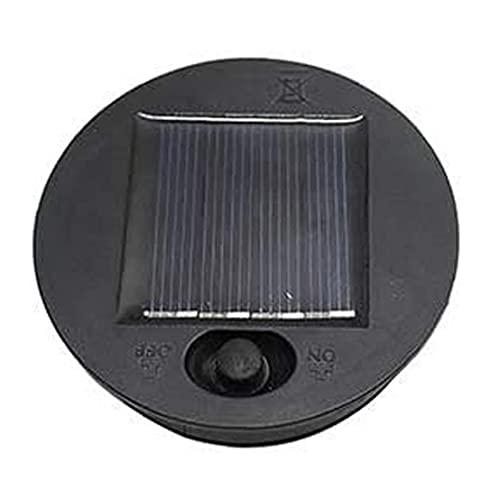 Yililay Las Luces solares de reemplazo Superior, Panel Solar de la lámpara Paquete de baterías, Linterna LED Luces de Recambio para el diámetro Exterior de 8 cm