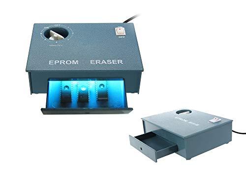 KALEA-INFORMATIQUE EPROM ERASER. Borrador UV para EPROM. borrado UV de 8 EPROM Max.