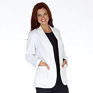PrimeSurgicals 100% Cotton Women's Lab Coat With 100 Days Warranty Size (36 • Small)