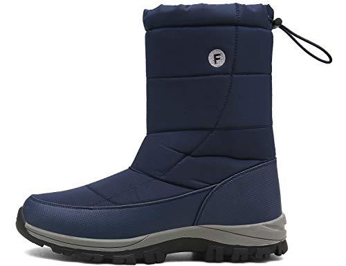 SINOES Männlich 018 Klassische Stiefeletten Winterschuhe Combat Boots SWAT Stiefel Blau 41 EU