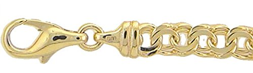 Gold Armband 8 k 333 Gelbgold Garibaldi Kette 19 cm