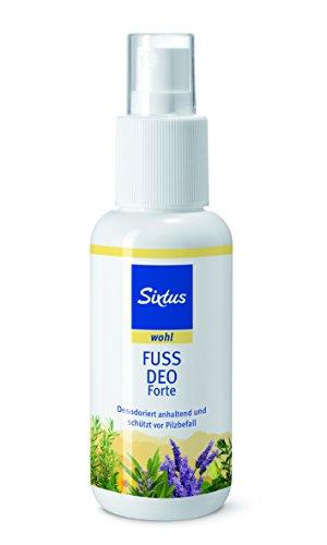 Sixtus Fussdeo Forte, 2er Pack (2 x 100 ml)