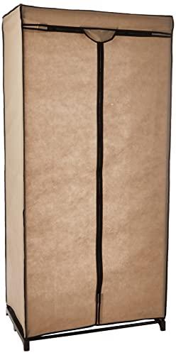 Compattatore Ran 6663 Dressing Chic Armadio, 75 x 50 x 160 cm, Beige, tela