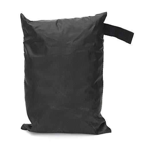 Housse de Protection Chaise empilable Housses imperméables Bureau Jardin extérieur Parkland Patio Meubles Noir Pratique et Durable (Color : Black, Size : 64x64x120/70cm)