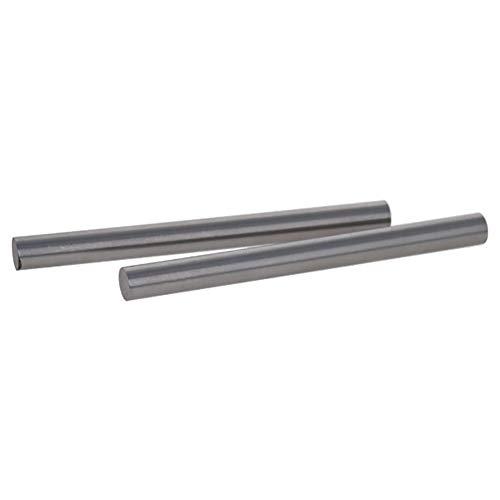 Utoolmart Runde Stahlstange, 8,5 mm HSS-Drehmaschine, 100 mm lang, für Wellengetriebe, Bohrmaschinen, Drehmaschinen, Mini-Achse, zylindrischer Stift, Heimwerker-Werkzeug, 2 Stück