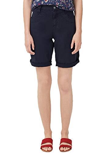 s.Oliver Damen 05.906.74.3761 Shorts, Blau (Navy 5959), W(Herstellergröße: 34)