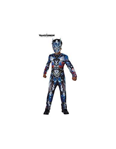 DISBACANAL Disfraz Optimus Prime TF5 para nio - -, 7-8 aos