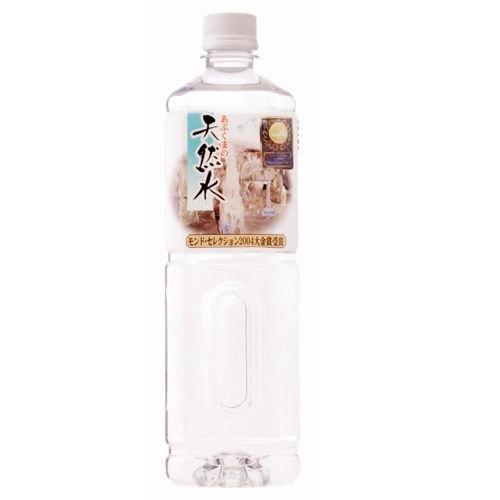 『あぶくまの天然水 1000ml PET×10本』の1枚目の画像