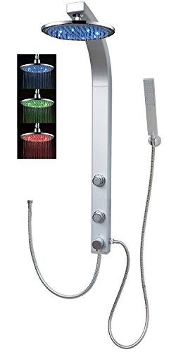 Panneau de douche colonne de douche Système de douche douche Panneau complet...