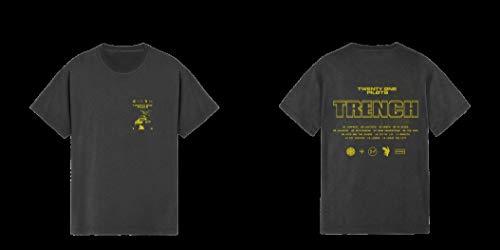 T-Shirt # L Unisex # Title Slim-Fit