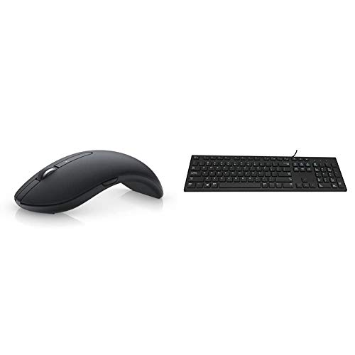 Dell Premier Wireless Mouse-WM527 570-AAPS *Same as 570-AAPS* & KB216 - Keyboard - USB - Black - for Inspiron 3459, 5759, Latitude 3310 2-in-1, 34XX, 35XX, 7390 2-in-1
