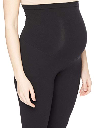 Motherhood Maternity Women's Maternity Essential Stretch Full Length Secret Fit Belly Leggings, Black, Small