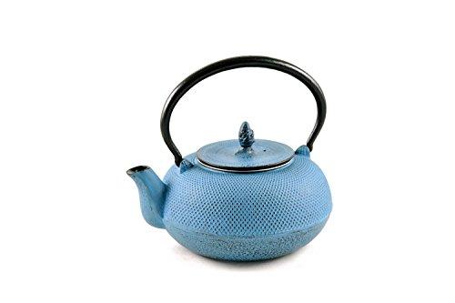 Maoci - gusseisen Teekanne Arare 1,4ltr. himmelblau
