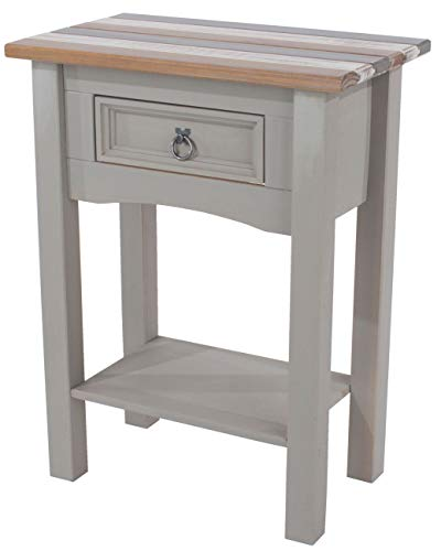 Core Products Corona Vintage 1 Drawer Side Table