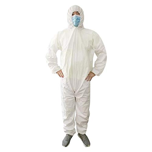 Learn More About Disposable Protective Gowns, Hooded Work Clothes Hospital Gowns Wotking Coveralls F...
