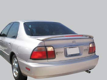 Accent Spoilers- Spoiler for a Honda Accord Factory Style Spoiler-Milano Red Paint Code: R81