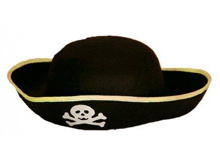 PARTYLINE Chapeau Feutre Pirate