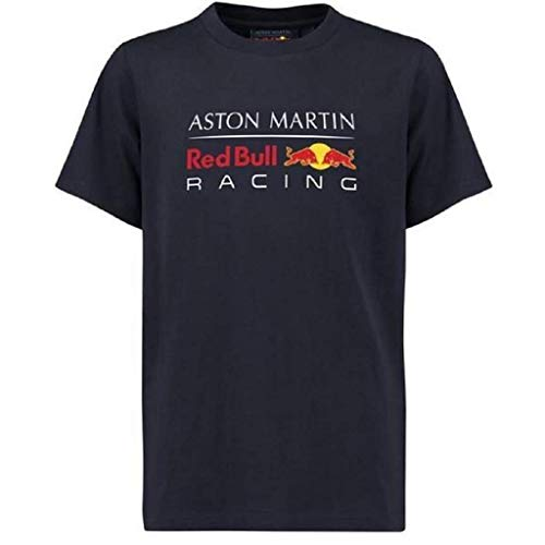 Red Bull Racing Aston Martin Kids Blue Authentic 2018 F1 T-Shirt (1-2 Years)