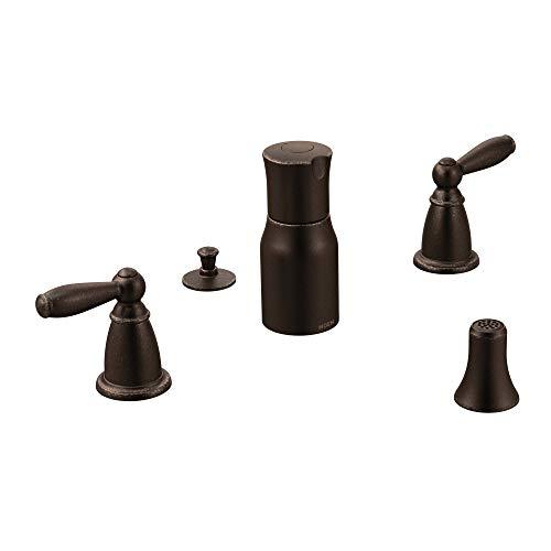 Moen T5225ORB Brantford Two-Handle Bidet Faucet Trim Kit, Valve Required, Oil Rubbed Bronze