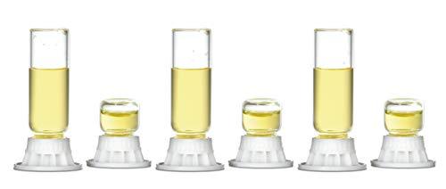 byFormica - Mini Kit assortimento per formiche per Acqua, Zucchero, Acqua, formiche e nettare, Mini 1 & 4 ml (6 PCS.)
