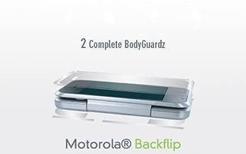 BodyGuardZ Scratch-Proof Transparent Film for Motorola Backflip - Transparent