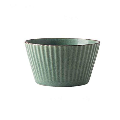 Ciotola Giapponese Uso Domestico Ciotola Di Zuppa Di Ceramica, Ciotola Di Riso Europeo Retro Famiglia Porridge Ciotola Riso Per La Cucina Casa Ristorante Stoviglie Snack Frutta Ciotola Ciotola Di Dess