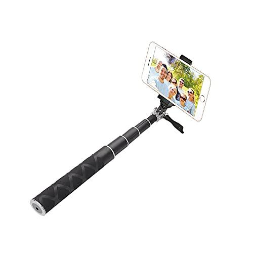 Selfie Stick con control remoto de obturador Bluetooth