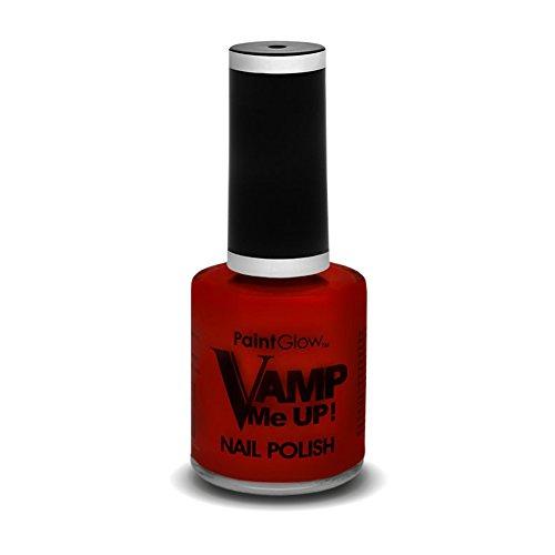 paintglow ausstich Me Up Nagellack, Blatt rot 10ml