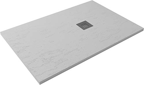 HIDRONATUR Receveur de Douche Extra-Plat Clasic 90x140 Blanc